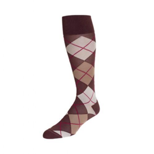 Rejuva Argyle Compression Socks 20-30 mmHg