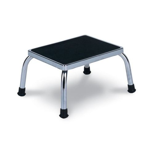 Chrome Footstool