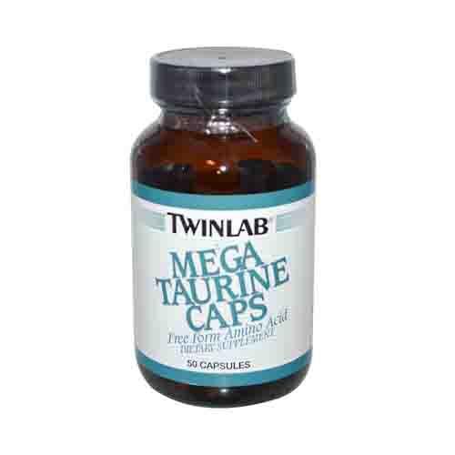 Mega Taurine Caps Amino Acid