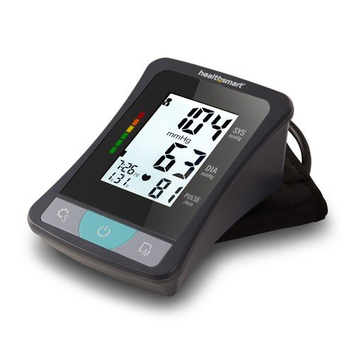 healthsmart select series upper arm blood pressure monitor 848