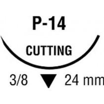 Monosof Black Suture with Needle