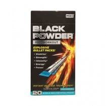 Black Powder Pre-Training Formula Energy Supplement