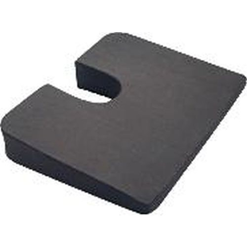 Super Compressed Premium Foam Coccyx Cushion, Cut-Out