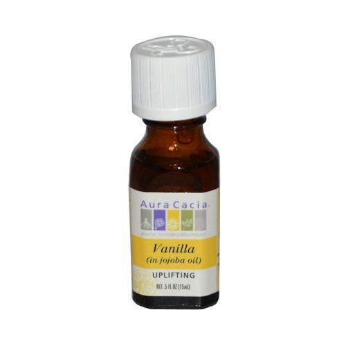 Aura Cacia Vanilla in Jojoba Oil Aromatherapy
