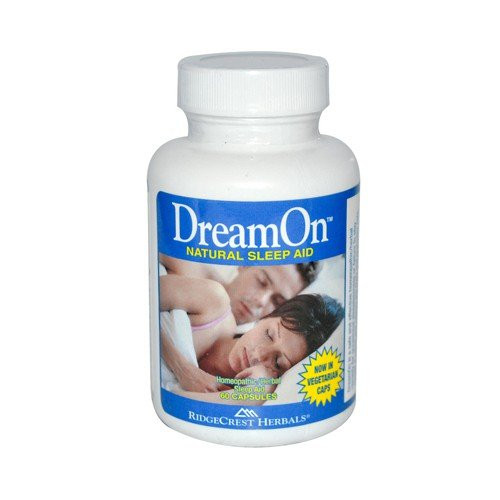 RidgeCrest Herbals DreamOn Natural Sleep Aid