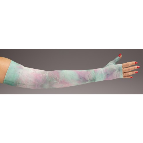 LympheDivas Luna Compression Arm Sleeve 20-30 mmHg w/ Diva Diamond Band