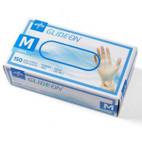 Glide On Powder Free Vinyl Exam Gloves