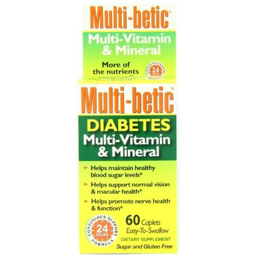 Multi-betic Diabetes Multivitamin Supplement