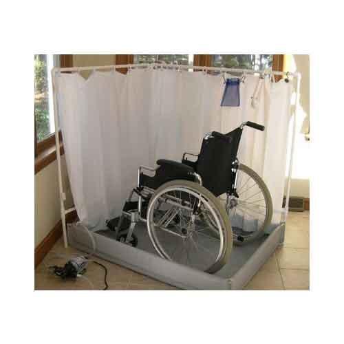 liteshower portable handicap shower nova health products ltsstnd ltstall vitality medical. Black Bedroom Furniture Sets. Home Design Ideas