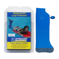 Dry Pro Waterproof Leg Cast Protector w/ Bulb Pump