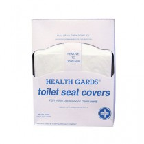 Health Gards Quarter Fold Toilet Seat Covers