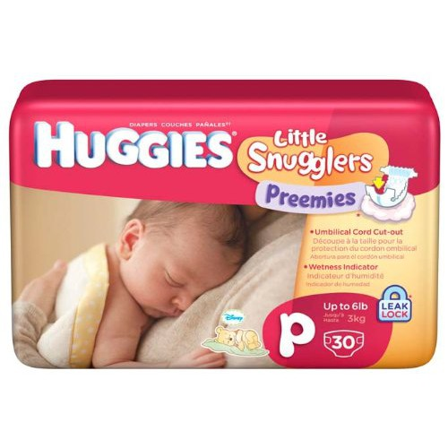 Huggies Preemies Baby Diapers