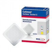 Cutimed Sorbion Sachet S 7323200 | 7.5 x 7.5 cm | 3 x 3 Inch by BSN