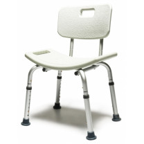 Knock-Down Bath Seat w/Backrest