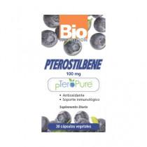 Bio Nutrition Pterostilbene Vegetarian Capsule Dietary Supplement