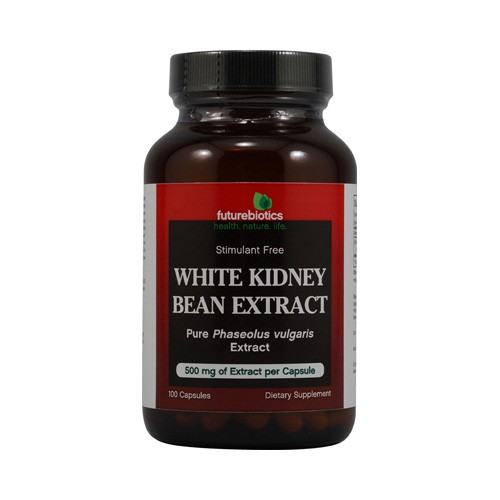 FutureBiotics White Kidney Bean Extract 500 mg Dietary Supplement