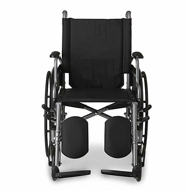 medline strong and sturdy wheelchair 23e