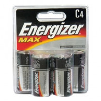 C Energizer Max Batteries