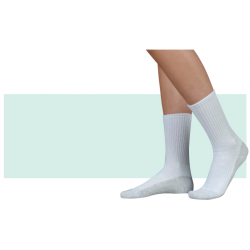 c88b97a3098 Juzo 5760 OTC Silver Sole Unisex Crew Length Compression Socks 12-16mmHg