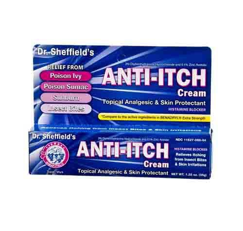 Sheffield Pharmaceuticals Anti Itch Allergy Cream 2