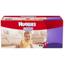 Huggies Lilttle Movers Baby Diapers
