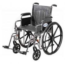 Drive 22 Inch Sentra EC Bariatric Standard Dual Axle Wheelchair
