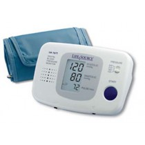 LifeSource Talking Auto Inflation Blood Pressure Monitor