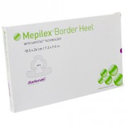 Mepilex Border Heel Self Adherent Border Foam Dressing