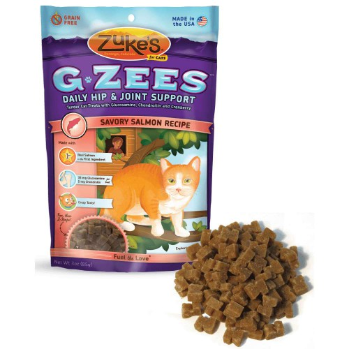 Cat G-Zees Daily Hip and Joint Support Salmon