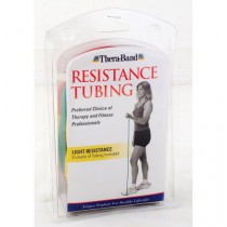 TheraBand Assorted Exercise Tubing 5 Feet, Light