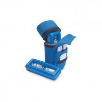 Medicool Insulin Protector - Blue (front)