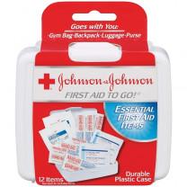 Johnson & Johnson First Aid To Go! Portable Mini Travel Kit
