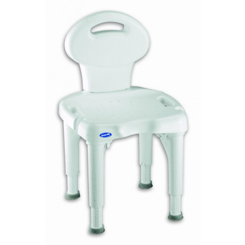 Invacare Shower Chair with Back