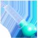 KENDALL 60cc Irrigation Bulb Syringe
