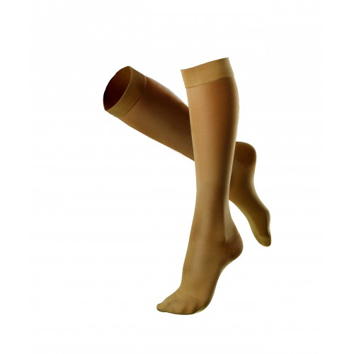 VENOSAN VINO OPAQUE Knee High Women's Compression Stockings Closed Toe 20-30 mmHg