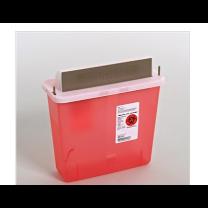 5 Quart Capacity, Transparent Red