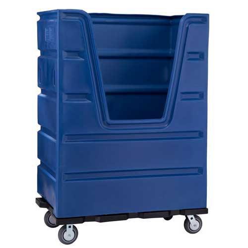 Bulk Transport Laundry Truck - 48 Cubic Feet Rolling Linen Cart