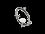 Invisia Accent Ring Soap Holder Grab Bar