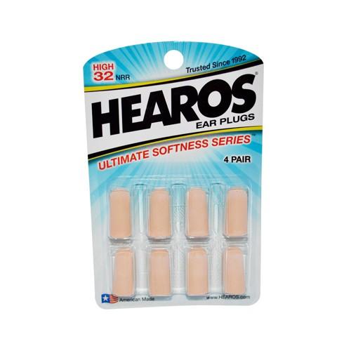 Hearos Ear Plugs Ultimate Softness Series