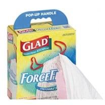 Saalfeld Glad Forceflex 13 Gallon Trash Bags