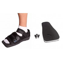 Square Toe Post-Operation Shoe with Pressure Relief Pad