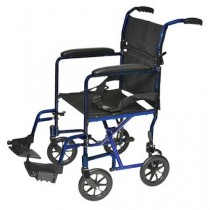 ProBasics 19 Inch Lightweight Aluminum Transport Wheelchair