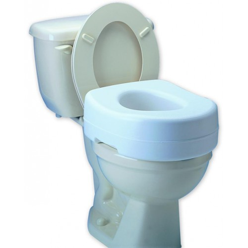 Elevated Toilet Seat with Undergrips
