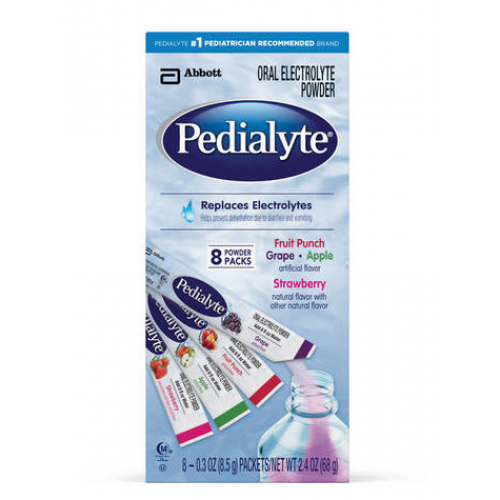 Pedialyte Oral Electrolytes Powder Packs