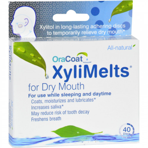Oracoat - XyliMelts - Dry Mouth Tablets