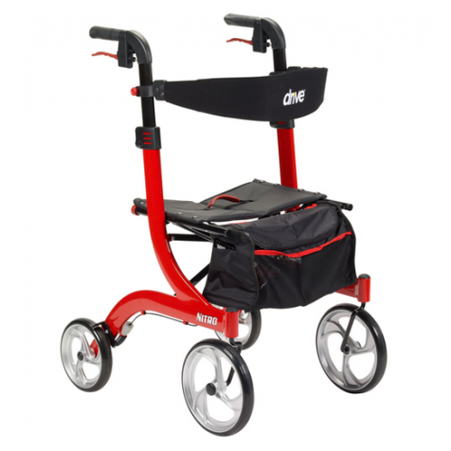 Nitro Rollator Walker with Seat