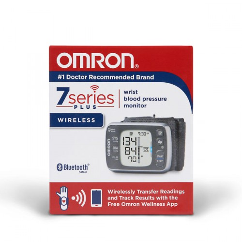 Omron 7-Series Wrist Blood Pressure Monitor with Bluetooth
