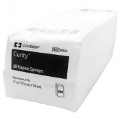 Curity 3 x 3 Inch All Purpose Sponge Gauze 4 Ply - 9023