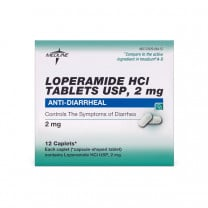 Loperamide HCL Anti-Diarrheal HCL Tablets, 2 mg1