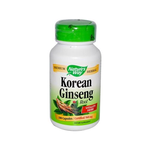 Nature's Way Korean Ginseng Root